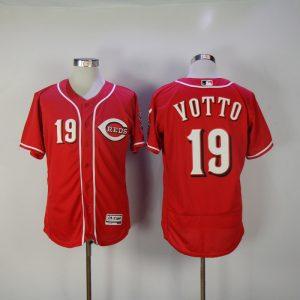 2017 MLB Cincinnati Reds 19 Yotto Red Elite Jerseys