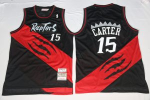 2017 NBA Toronto Raptors 15 Carter 2000-2001 Season throwback jersey